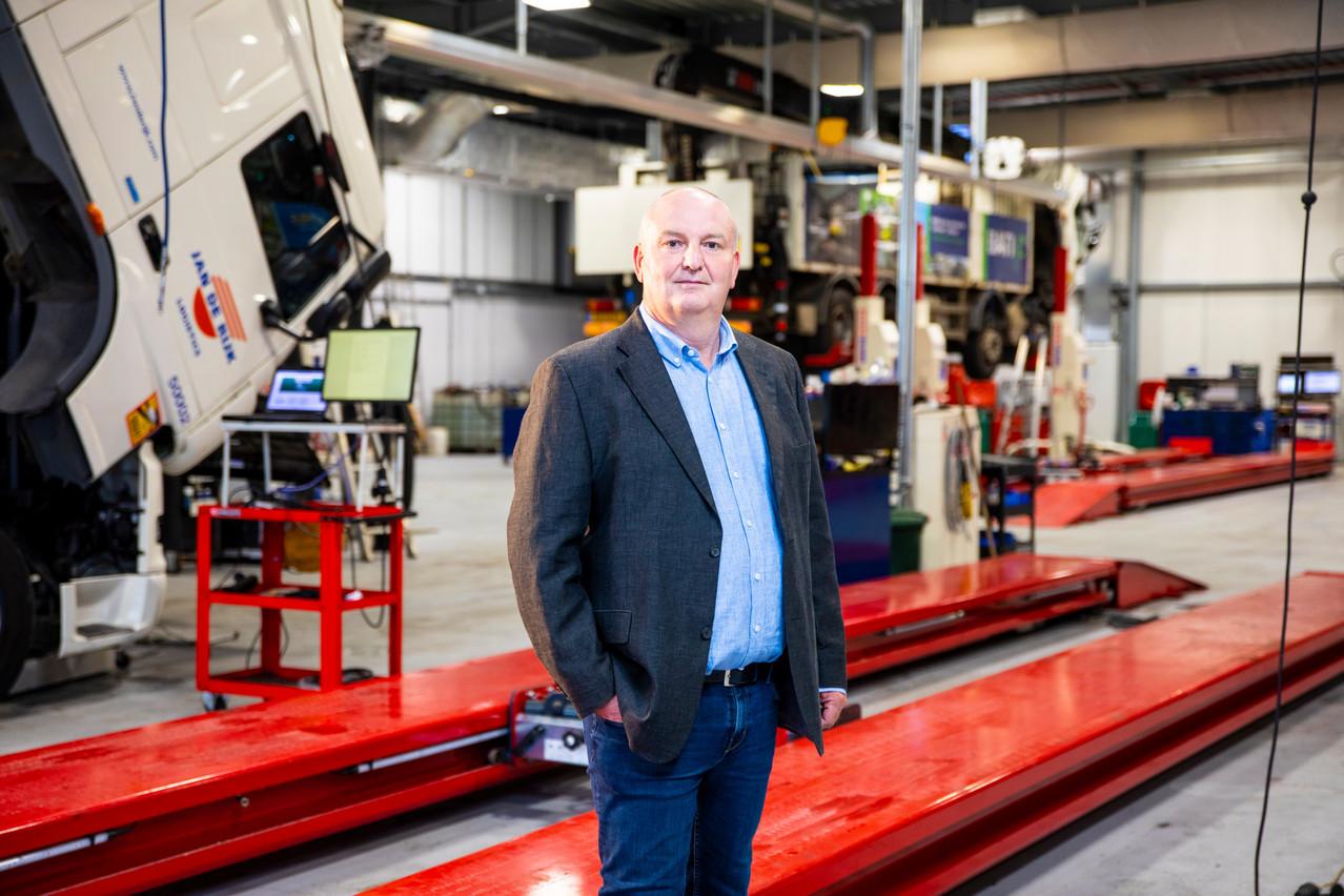 Guy Riskin, Directeur de Truck Trading Luxembourg VERJUS SIMON, Maison Moderne Publishing SA
