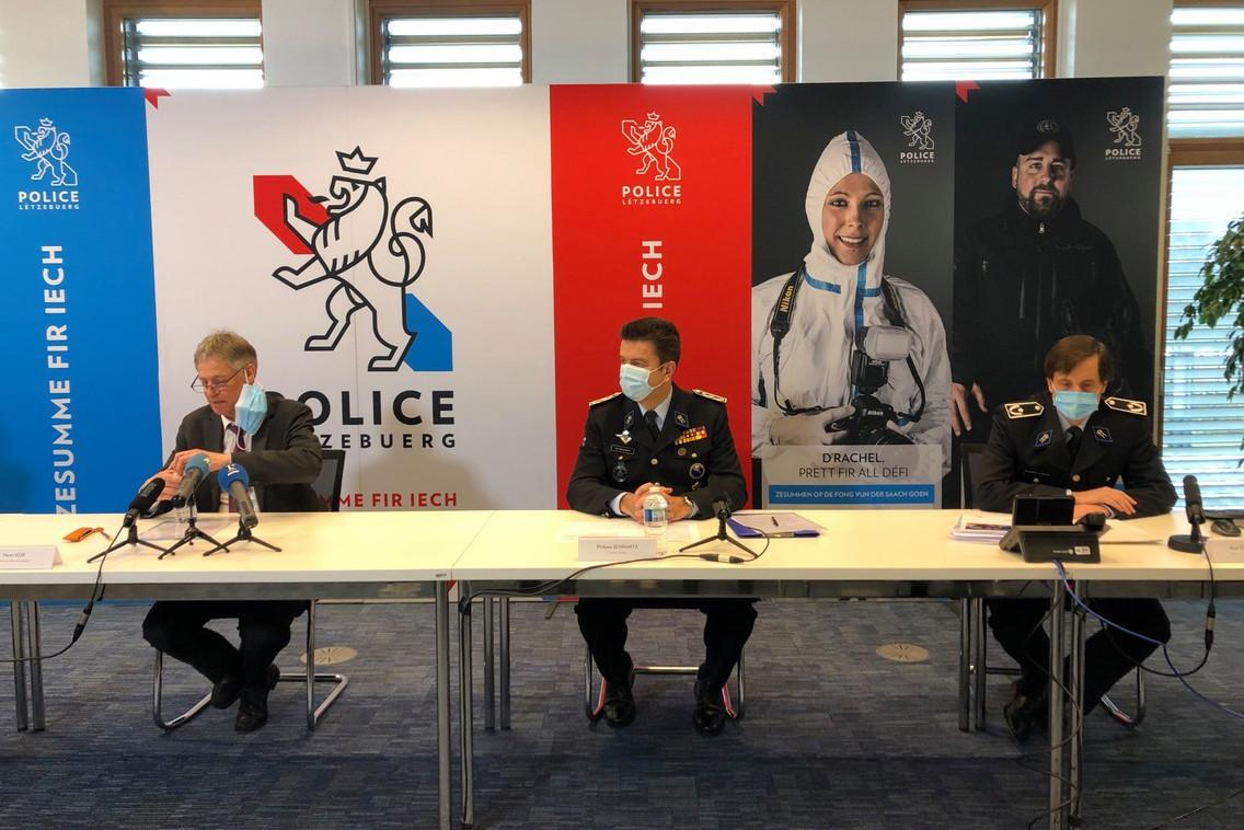 700 candidatures externes ont été reçues suite à la campagne de recrutement lancée à l'automne2020 par la police grand-ducale. (Photo: Paperjam)