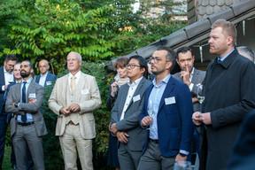 Łukasz Małecki (Alter Domus), Simon Bodjanski (Independent Minds), Mateusz Pondel (AQTEEV), Buu Huynh (ING), Anne Leprevost, Franck Leprevost (University of Luxembourg), Jarosław Kokoszka (Q Securities)  Luxembourg-Poland Chamber of Commerce