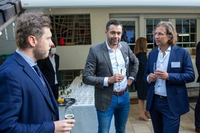 Maciej Waloszyk (Cascade Lab), Simon Bodjanski (Independent Minds), Tomasz Matczuk (MWW Law)  Luxembourg-Poland Chamber of Commerce