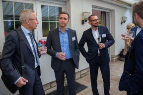 Piotr Zaczek (Q Securities), Dariusz Landsberg (Fundequate, Genprox), Jerzy Kasprzyk (Q Securities)  Luxembourg-Poland Chamber of Commerce