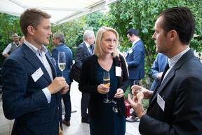Vojtech Seman (Rejustify), Justyna Radziewicz (CFL), David Saigne (Lrlux)   Luxembourg-Poland Chamber of Commerce