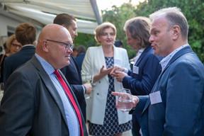 Piotr Wojtczak (Polish ambassador to Luxembourg), Patrick Berg (Domaines Vinsmoselle), Agnieszka Sawa (Q Securities), Tomasz Matczuk (MWW Law), Filip Suchta (MWW Law)  Luxembourg-Poland Chamber of Commerce