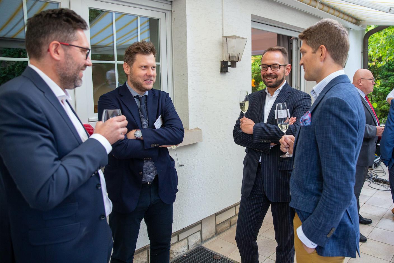 Maciej Waloszyk (Cascade Lab), Jerzy Kasprzyk (Q Securities), Vojtech Seman (Rejustify)  Luxembourg-Poland Chamber of Commerce