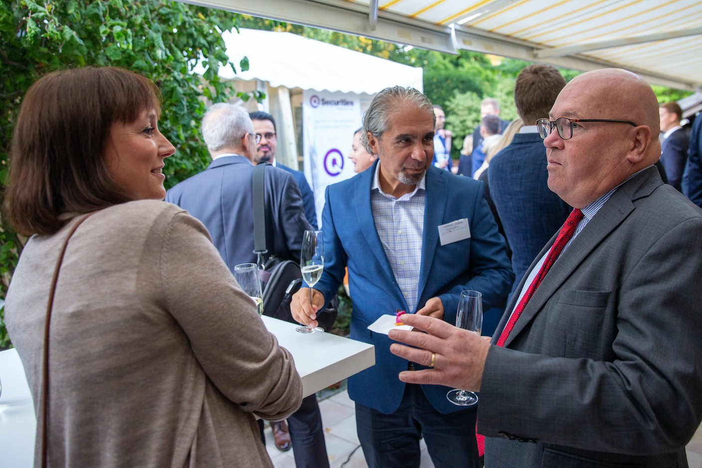 Marzena Rudaś (Expandion), Piotr Wojtczak (Polish ambassador to Luxembourg), Gabriel Florea (Expandion)  Luxembourg-Poland Chamber of Commerce