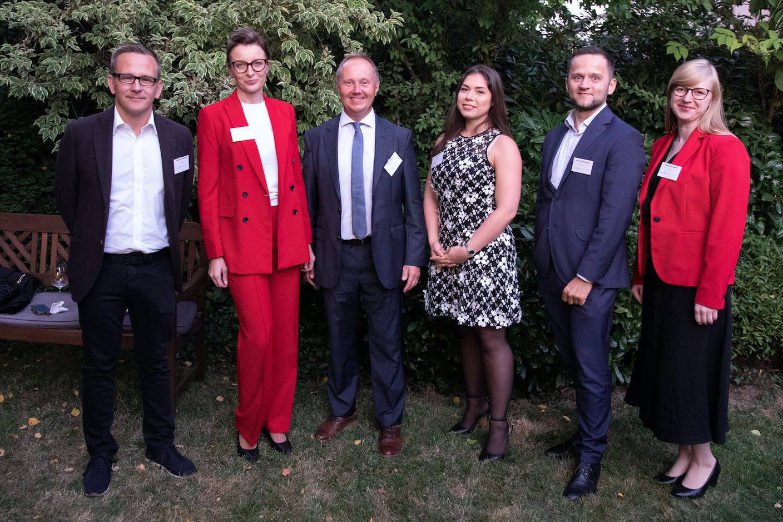 LPCC Team: Grzegorz Peczkowski, Marta Andrzejewska, Artur Sosna, Valeria Pezzino, Adam Tymofiejewicz, Katarzyna Białek  Luxembourg-Poland Chamber of Commerce