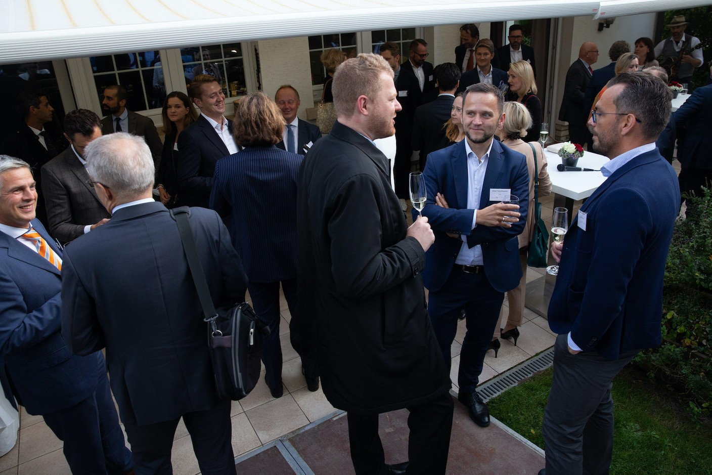 The Polish ambassador to Luxembourg hosted the event at his residence  Luxembourg-Poland Chamber of Commerce