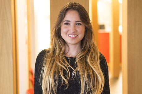 Laura Hernandez Suarez chercheun poste de microbiologiste ou d'opticienne. (Photo: Adem)