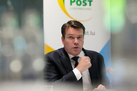 Dans le contexte actuel ,Claude Strasser, le CEO de Post, se montre satisfait d'avoir stabilisé le chiffre d'affaires de la division télécoms. (Photo: Matic Zorman)