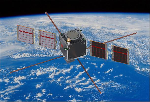 Le satellite de LuxSpace est certes le plus gros construit au Luxembourg… mais la mission de Vega est surtout d'emmener 53satellites d'un coup. Une première en Europe, là où les lanceurs américains ou indiens y sont déjà habitués. (Photo: LuxSpace / ESA)