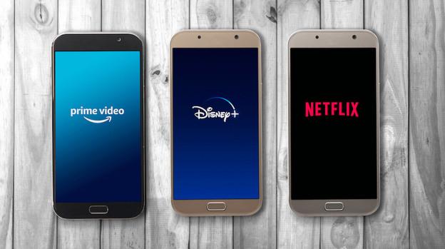 Amazon Prime, Disney+ et Netflix, trois des opérateurs disponibles au Luxembourg. (Photo: Shutterstock)