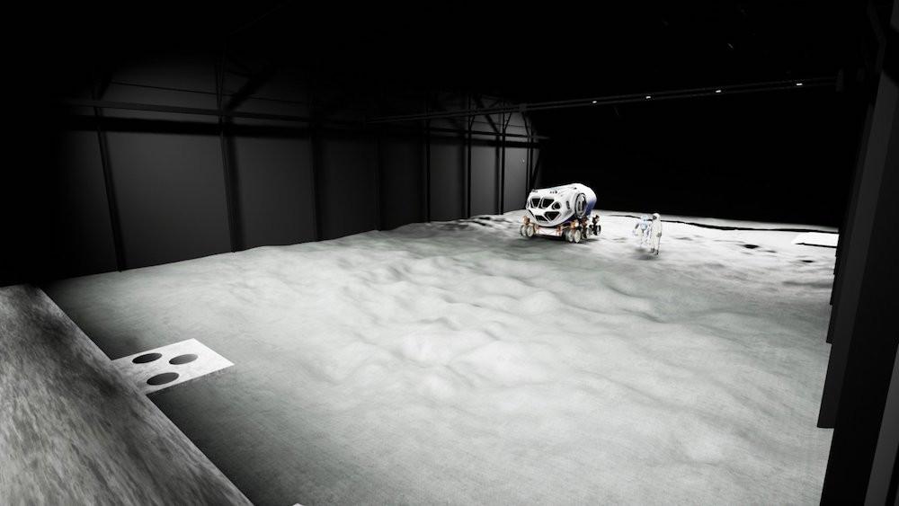 La Luna Facility de Cologne doit aider chercheurs, experts et astronautes à préparer un retour humain sur la Lune en 2024. (Photo: ESA)