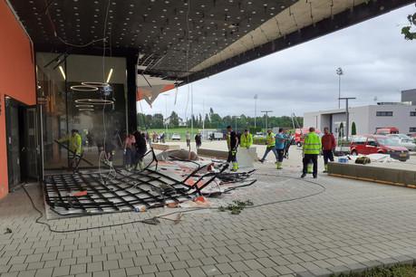 Le CGDIS a notamment démontré son efficacité lors de la tornade qui a frappé Bascharage et Pétange. (Photo: Paperjam/Archives)