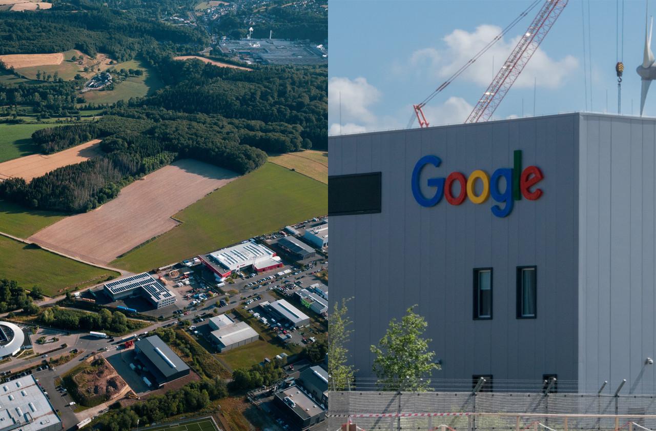 Le conseil communal de Bissen a approuvé le PAP de Google. (Photomontage: Maison Moderne. Photos: Mike Zenari et Shutterstock)