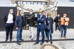 La fin des travaux est prévue pour fin novembre 2020 (sous réserve d'une évolution favorable de la pandémie du coronavirus). Et le premier match officiel est annoncé pour mars 2021. ((Photo: Caroline Martin))
