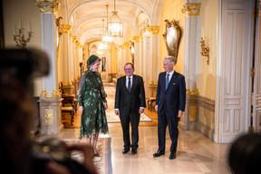 S.M. la Reine des Belges, Fernand Etgen (Président de la Chambre des députés) et S.M. le Roi des Belges ((Photo: Anthony Dehez))