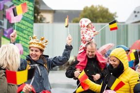 Une première journée chargée pour le Roi et la Reine des Belges ((Photo: Anthony Dehez))