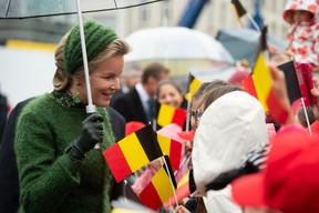 S.M. la Reine des Belges ((Photo: Anthony Dehez))