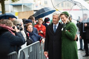 S.M. le Roi des Belges et S.M. la Reine des Belges ((Photo: Anthony Dehez))