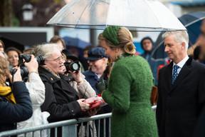 S.M. la Reine des Belges et S.M. le Roi des Belges ((Photo: Anthony Dehez))