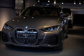 La nouvellei4 s'inscrit dans le segment des grands coupés 4portes. ((Photo: BMW/Diana Sellier))