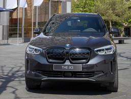 La iX3 s'inspire évidemment directement de la X3 traditionnelle. ((Photo: BMW/Diana Sellier))