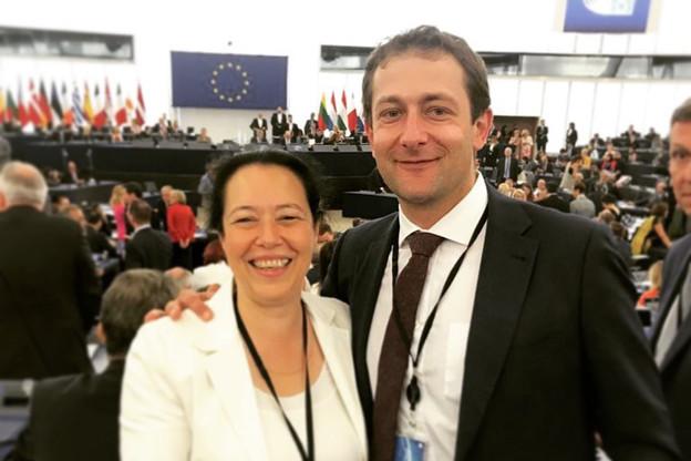 Les eurodéputés du CSV ont fait leur rentrée. (Photo: Facebook / Christophe Hansen)