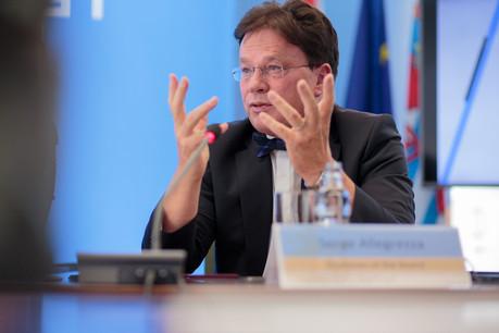 Chargé de diriger l'Observatoire de la compétitivité, Serge Allegrezza est aussi président du Conseil national de la productivité. (Photo: Paperjam / Archives)