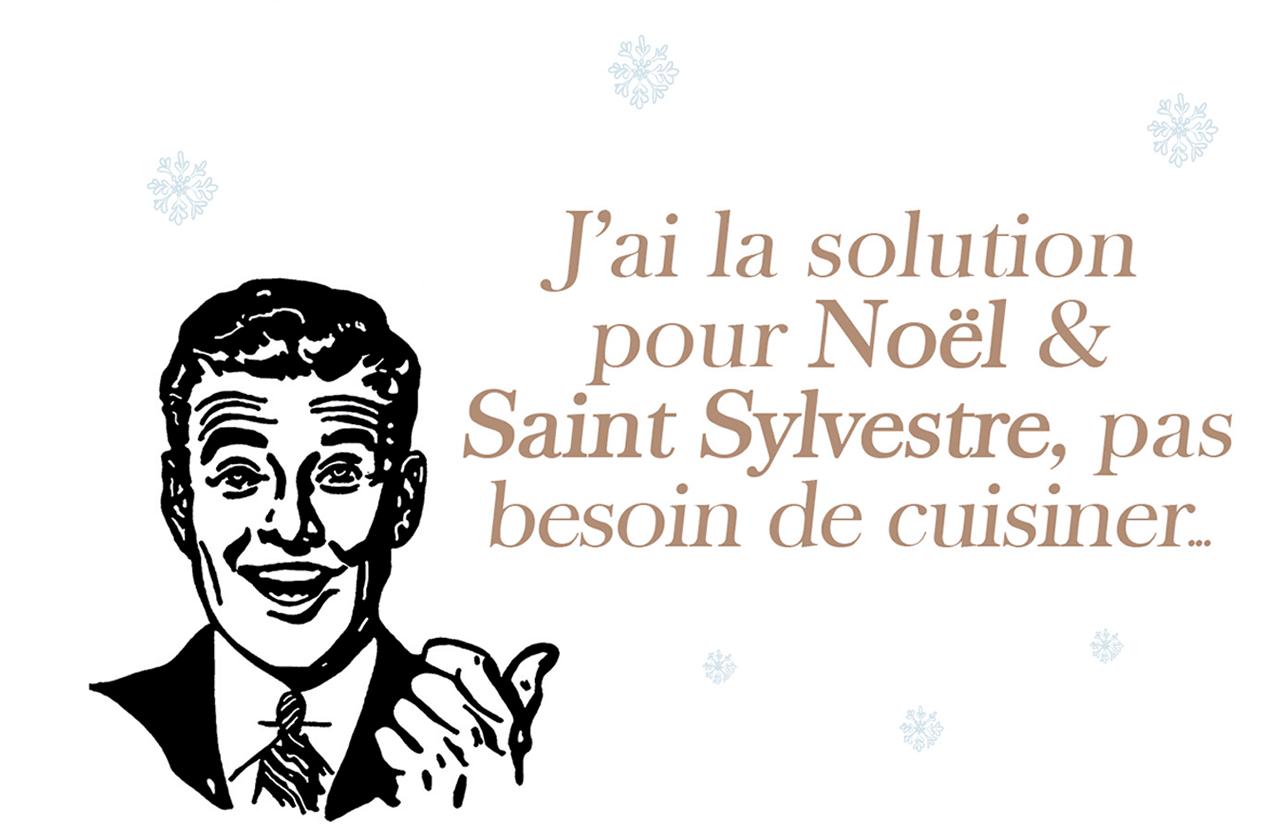 Menu à emporter pour Noël et Saint Sylvestre à Luxembourg, Catering & Cantine Windsor (création: service marketing, création fait maison) (Crédit: Windsor)