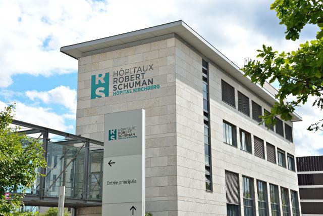 Le site du Kirchberg doit accueillir une nouvelle tour qui abritera le Centre de l'innovation et plusieurs services hospitaliers. (Photo: Hôpitaux Robert Schuman)