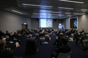Présentation du livre et du film retraçant le passé de la CSSF – 20.10.2020 ((Photo: Romain Gamba/Maison Moderne))