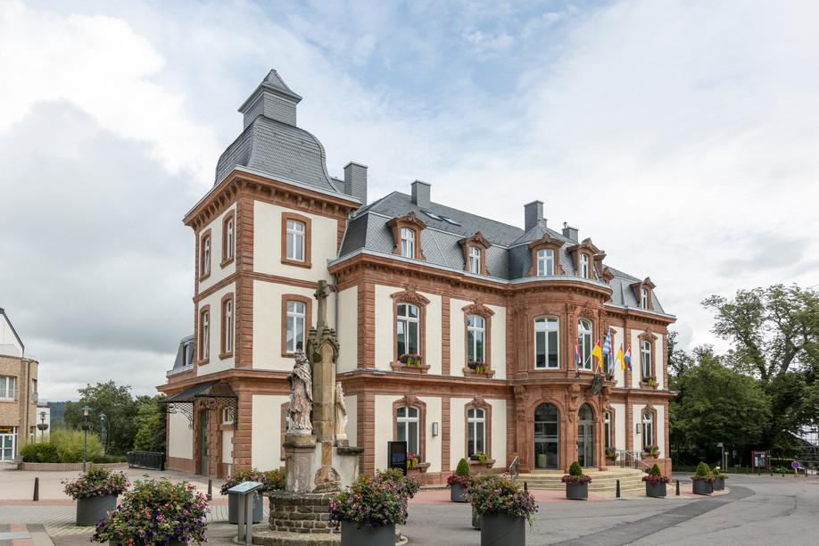 The Villa Thilges on Wiltz's Grand-Rue Photo: Romain Gamba / Maison Moderne