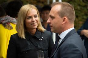 Taina Bofferding (Ministre de l'Intérieur) et Paul Konsbruck (Chef de cabinet du Premier ministre) ((Photo: Anthony Dehez))