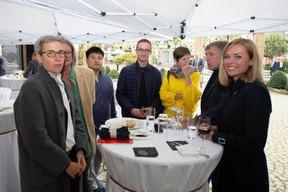 Sam Tanson (Ministre de la Culture), François Bausch (Ministre de la Mobilité et des Travaux publics) et Taina Bofferding (Ministre de l'Intérieur) ((Photo: Anthony Dehez))