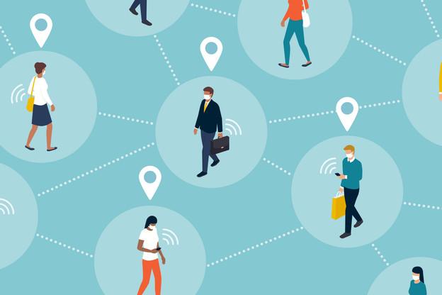 Un groupe de chercheurs de haut niveau planche sur une architecture critique qui serait la base d'une application ou d'une solution pour détecter l'arrivée et la propagation d'une épidémie en temps réel. Tout en répondant aux enjeux de vie privée et de protection des données. (Photo: Shutterstock)