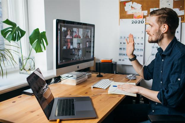 Explosion du télétravail – Les entreprises ont dû s'adapter et s'équiper en un temps record pour pouvoir assurer dans de bonnes conditions un suivi de leur activité via le télétravail. (Photo: Shutterstock)