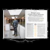 Interview avec Kris de Souter, head of private banking de Degroof Petercam Luxembourg. ((Photo: Romain Gamba / Maison Moderne))
