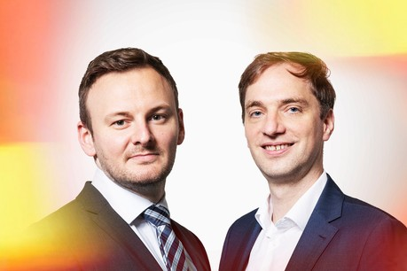 Guillaume Stark, Manager | Wealth Management Lead Luxembourg at Accenture & Gilles Walentiny, Senior Manager at Orbium | Part of Accenture Wealth Management Maison Moderne
