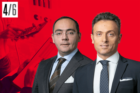 Edoardo Ancora (Corporate Finance) and Livio Gambardella (Real Estate Leader), partners at BDO Luxembourg Crédit: BDO, montage photo Maison Moderne