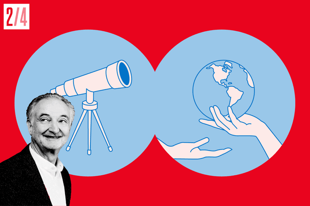 Jacques Attali, Fondation Positive Planet. (Crédit: Maison Moderne)