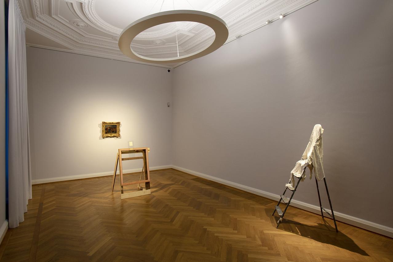 Thibaud Schneider, dont les œuvres sont exposées entre autres à la Villa Vauban, est le lauréat du Prix d'art RobertSchuman2019. (Photo: Olivier Minaire)