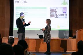 Jeff Burg (Beim Burg) et Sandie Lahure ((Photo: Matic Zorman/Maison Moderne))