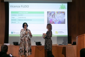 Vincenza Fuzio (Ottika Enza) et Sandie Lahure ((Photo: Matic Zorman/Maison Moderne))