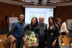 Alexandra Kahn (Genaveh) et Daniel Kahn (au centre). ((Photo: Matic Zorman/Maison Moderne))