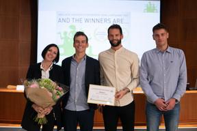 Les lauréats, les frères Pol et Ben Weisgerber, qui ont repris en 2017 l'entreprise familiale de construction en aluminium qui porte leur nom. ((Photo: Matic Zorman/Maison Moderne))
