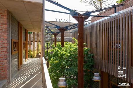 L'hôtel Graace fait partie des cinq livraisons retenues pour concourir au EU Mies Award 2022. (Photo: Patty Neu)