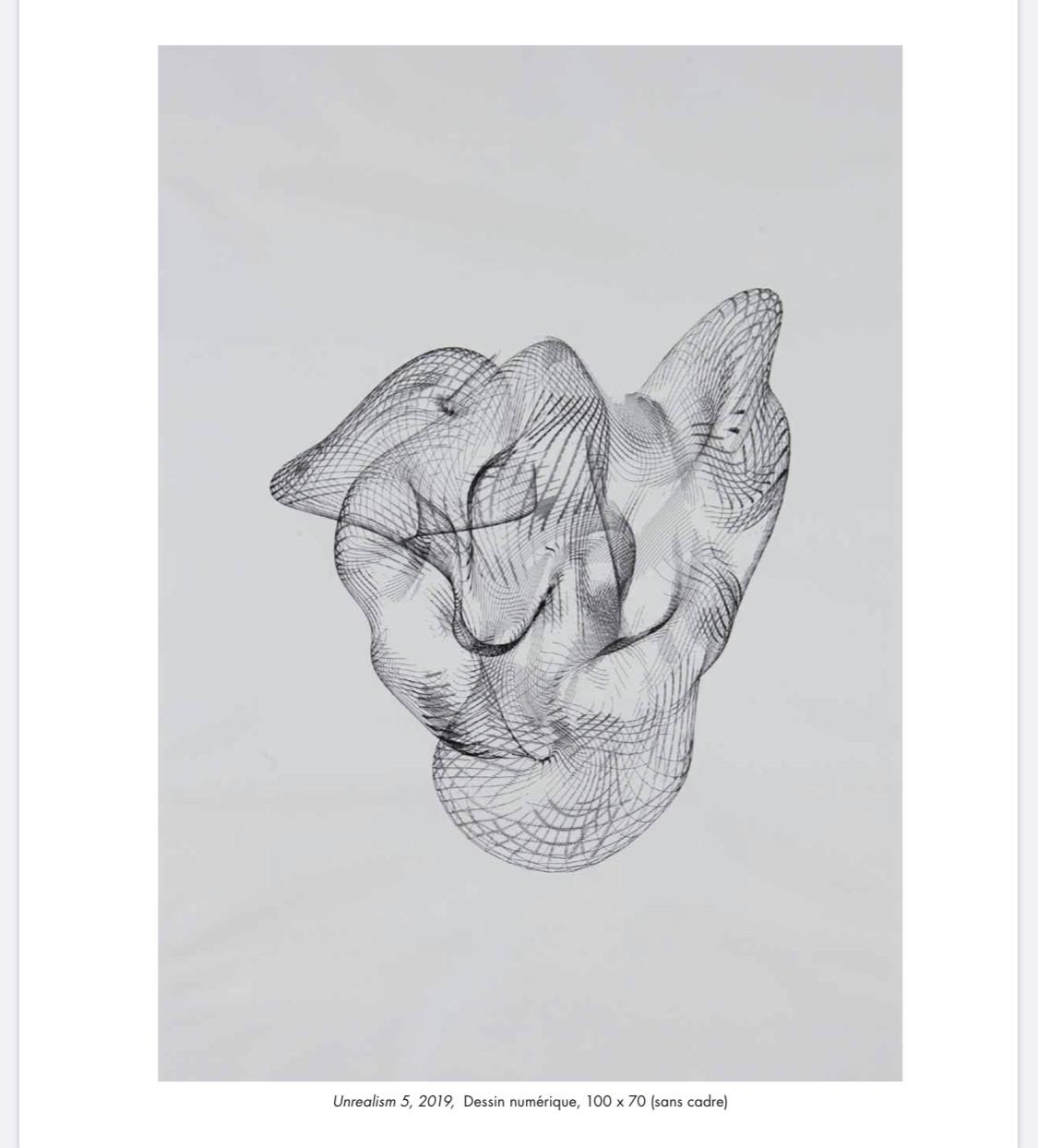 «Unrealism 5», 2019, dessin numérique. (Photo: Pit Molling)