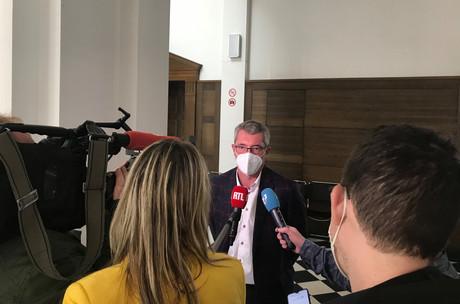 La première audience du procès autour de FrankEngel s'est tenue ce mardi 19 octobre au tribunal correctionnel de Luxembourg. (Photo: Paperjam)