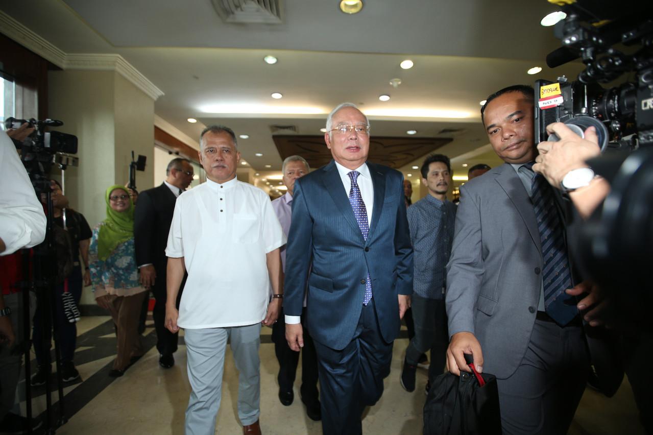 L'ex-Premier ministre malaisien, ici lors de son premier procès, la semaine dernière. Le procès le plus important s'est ouvert mercredi, devant la Haute Cour de Malaisie. (Photo: Shutterstock)