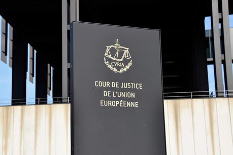 La Cour de justice a connu un nombre record de dossiers introduits en 2018. (Photo: Shutterstock)